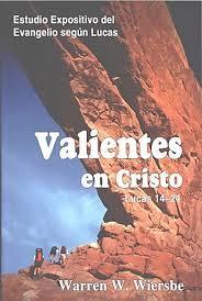 VALIENTES EN CRISTO