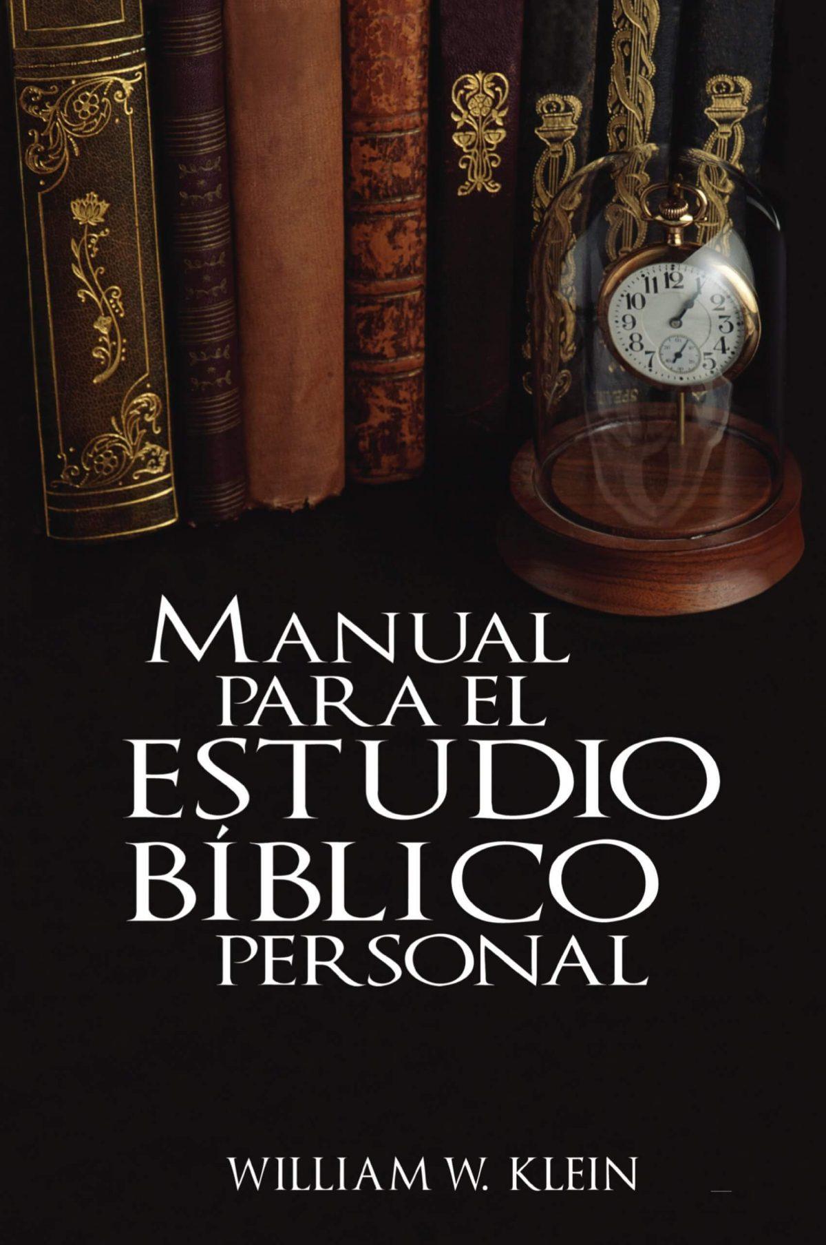 MANUAL PARA EL ESTUDIO BIBLICO PERSONAL