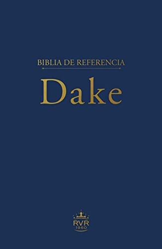 BIBLIA DE REFERENCIA DAKE BLUE