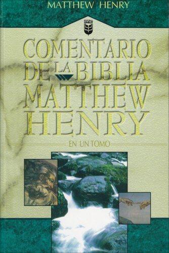 COMENTARIO DE LA BIBLIA MATHEW HENRY - en un tomo