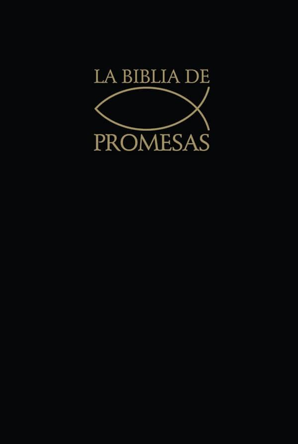 Biblia de Promesas - Tapa dura negra