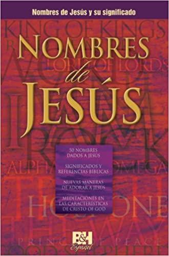 NOMBRES DE JESUS