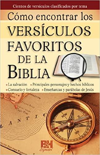 COMO ENCONTRAR LOS VERSICULOS FAVORITOS DE LA BIBLIA