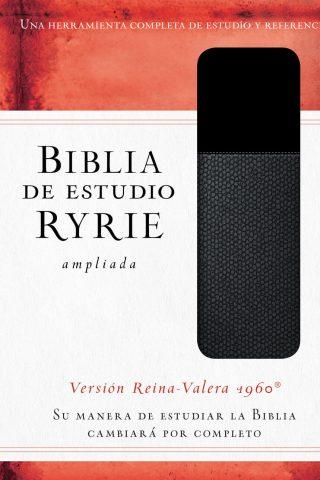 BIBLIA DE ESTUDIO RYRIE AMPLIADA NEGRA VRV1960
