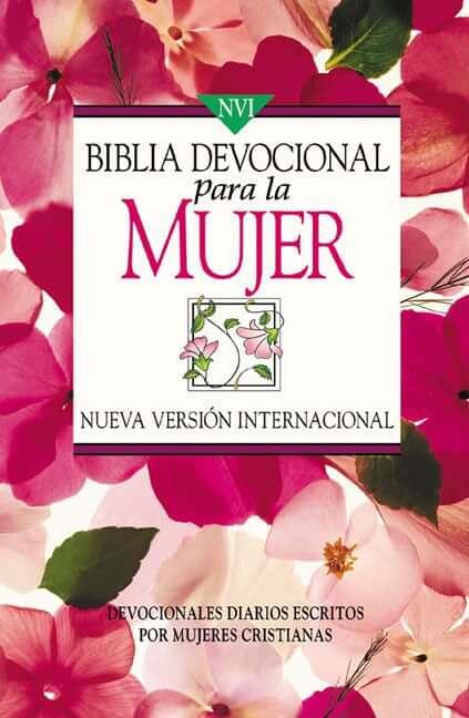 BIBLIA NVI DEVOCIONAL PARA LA  MUJER