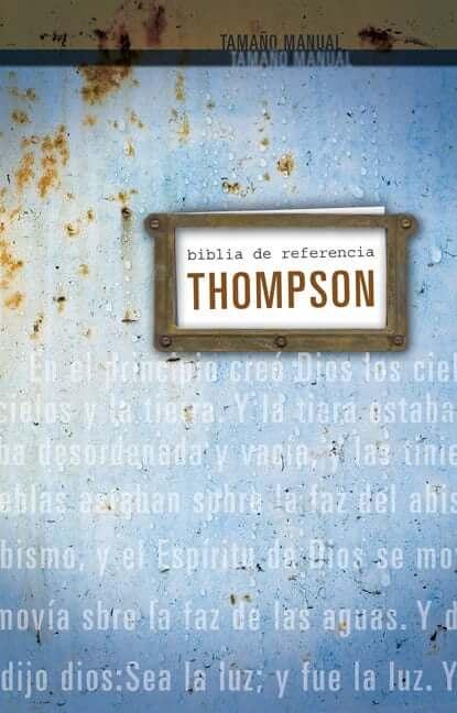BIBLIA DE REFERENCIA THOMPSON PERSONAL RVR 1960