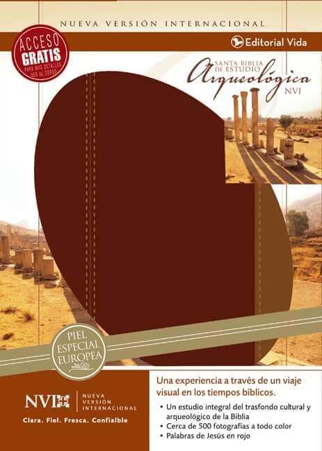 BIBLIA  DE ESTUDIO NVI ARQUEOLOGICA