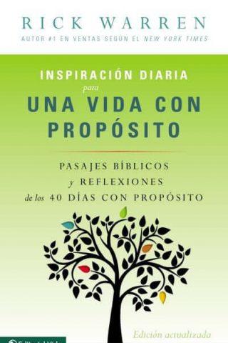 INSPIRACION DIARIA PARA UNA VIDA CON PROPOSITO