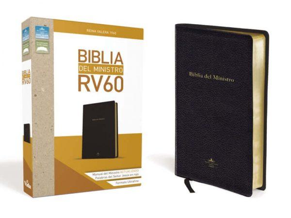 BIBLIA DEL MINISTRO RV60