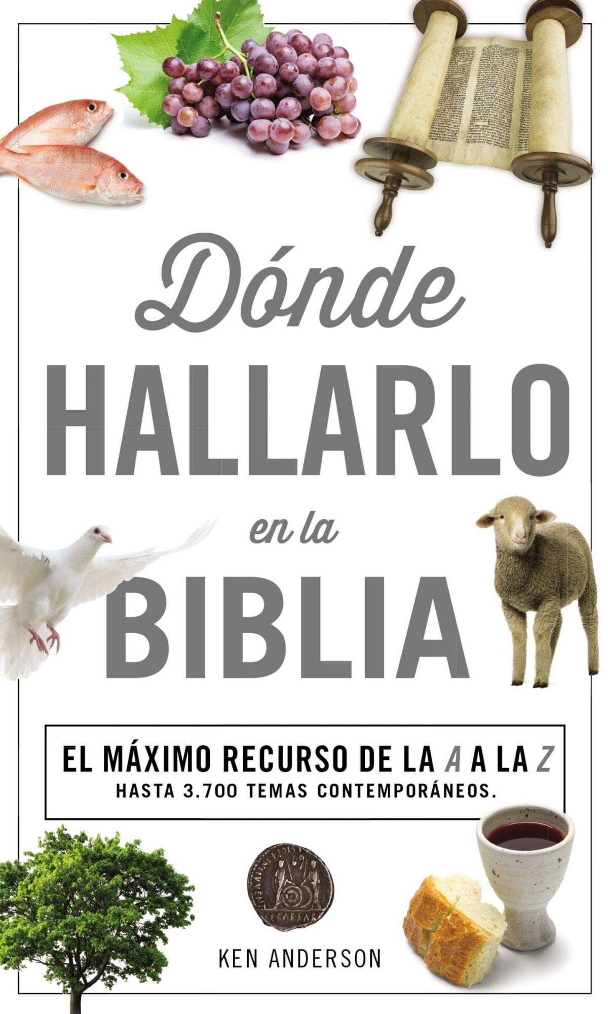 DONDE HALLARLO EN LA BIBLIA (BOLSILLO)