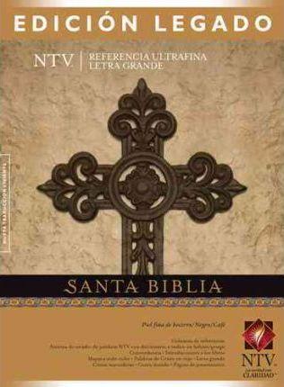 SANTA BIBLIA NTV EDICION LEGADO NEGRO/VINO
