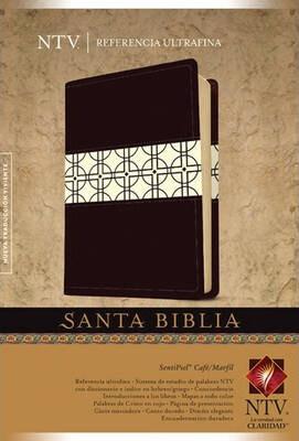 SANTA BIBLIA NTV REFERENCIA ULTRAFINA - CAFE/MARFIL