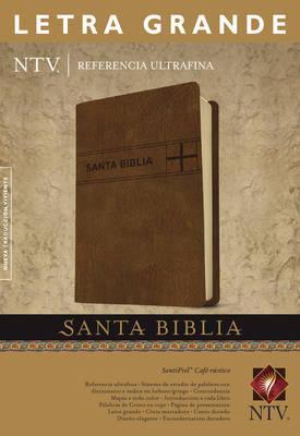 SANTA BIBLIA NTV LETRA GRANDE  REFERENCIA ULTRAFINA CAFE