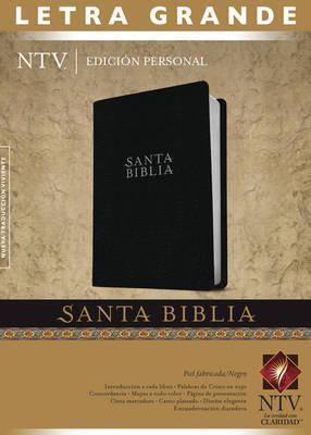 SANTA BIBLIA NTV EDICION PERSONAL LETRA GRANDE - NEGRO