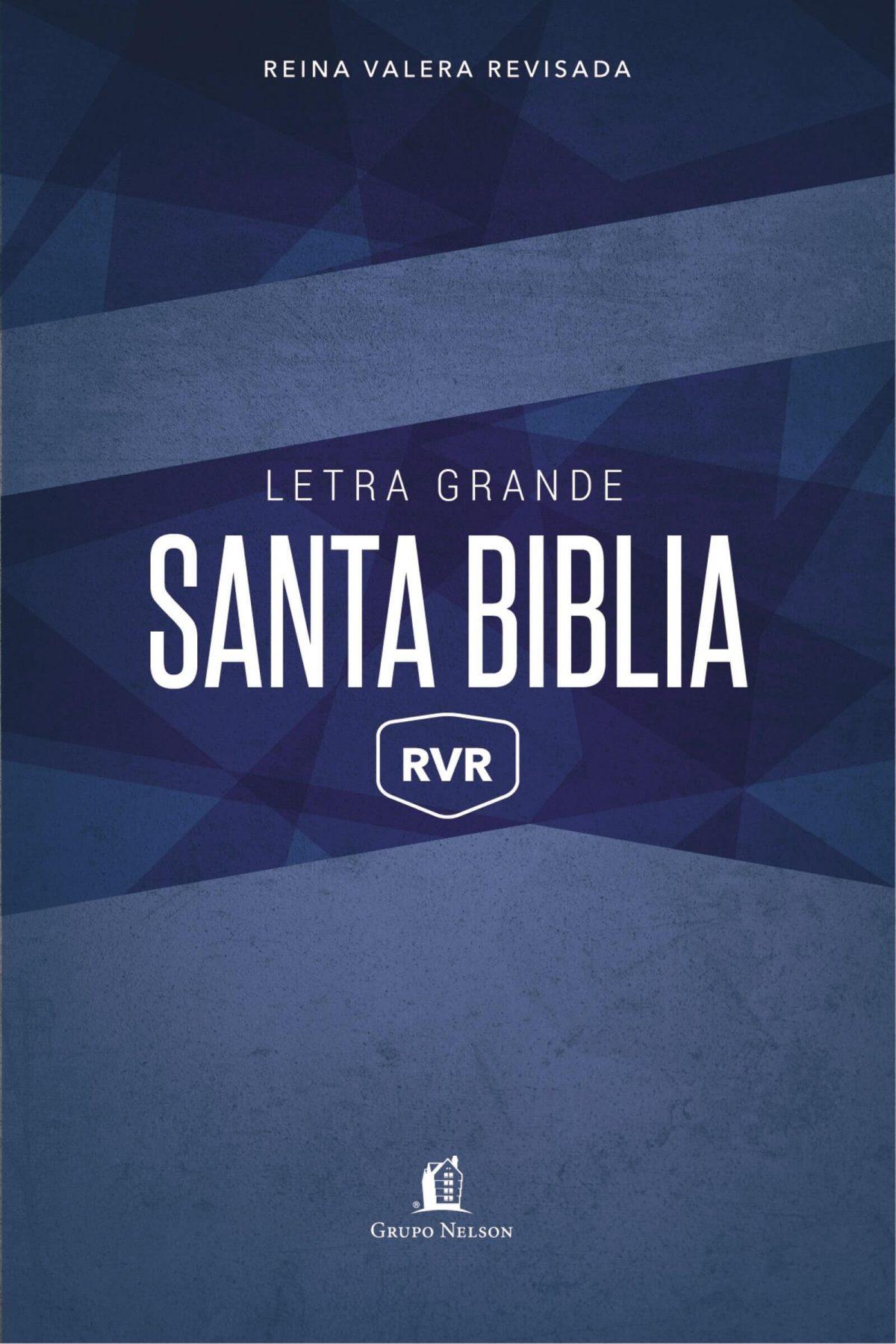 SANTA BIBLIA RVR LETRA GRANDE