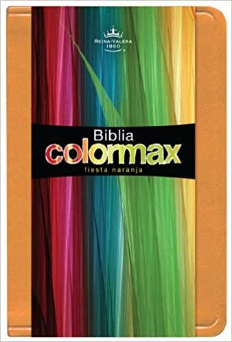 BIBLIA RVR 1960 COLORMAX FIESTA NARANJA