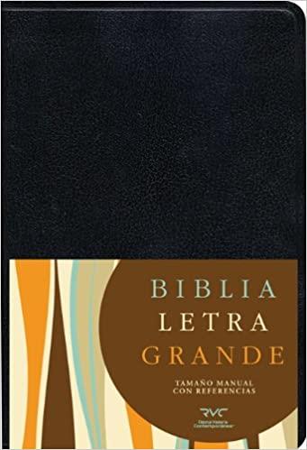BIBLIA RVC LG TAM.MANUAL NEGRO IMIT.PIEL
