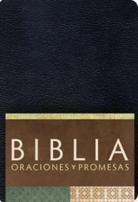 BIBLIA RVC ORACIONES Y PROMESAS NEGRO IMIT.PIEL