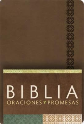 BIBLIA RVC ORACIONES Y PROMESAS-CANELA SIMI.PIEL