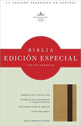 BIBLIA RVR 1960 EDICION ESPECIAL ORO/MARRON PROFUNDO