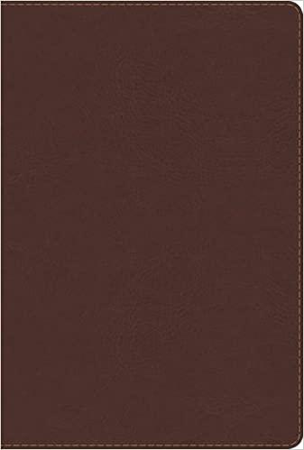 BIBLIA DE ESTUDIO ARCO IRIS  CHOCOLATE SIMIL PIEL