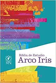 BIBLIA DE ESTUDIO ARCO IRIS NTV TAPA DURA