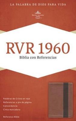 BIBLIA RVR1960 REF.DUOTONO COBRE/MARRON.SIMIL PIEL