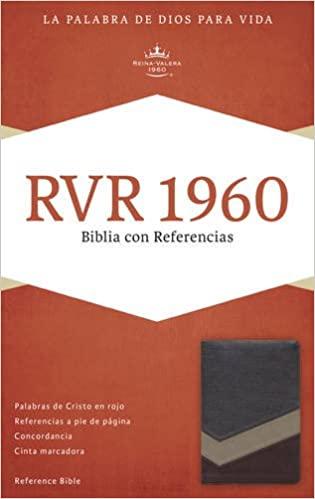 BIBLIA RVR1960 REF.DUOTONO MARRON SIMIL PIEL