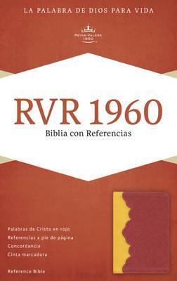 BIBLIA RVR1960 REF.AMBAR/ROJO LADRILLO SIMIL PIEL
