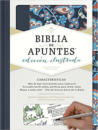 BIBLIA DE APUNTES AZUL RVR60