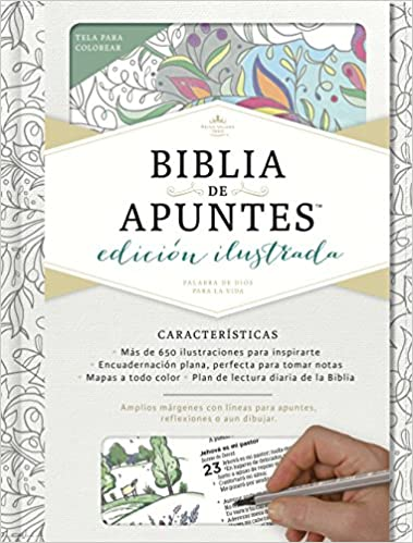 BIBLIA DE APUNTES BLANCO RVR 60