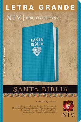 Santa Biblia NTV Edicion personal Letra Grande  BLU