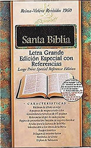 RVR 1960 BIBLIA LETRA GRANDE EDICION ESPECIAL CON REFERENCIAS