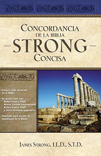 NUEVA CONCORDANCIA CONCISA STRONG TAPA DURA