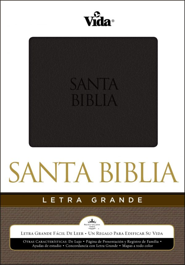 BIBLIA RV 1960 LETRA GRANDE NEGRA