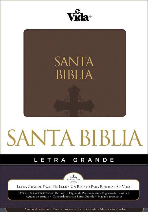 BIBLIA RVR 1960 LETRA GRANDE MARRON