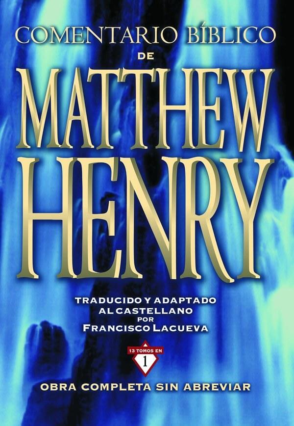 COMENTARIO BIBLICO GRANDE MATTHEW HENRY