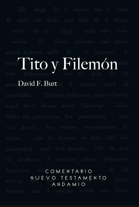 COMENTARIO NUEVO TESTAMENTO ANDAMIO - TITO Y FILEMON