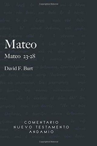 COMENTARIO NUEVO TESTAMENTO ANDAMIO – MATEO 23-28