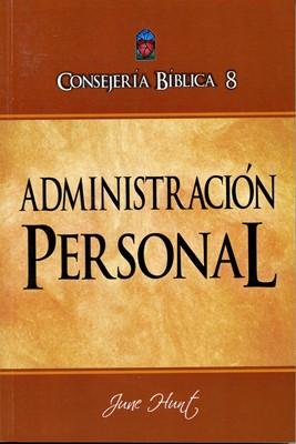 CONSEJERÍA BIBLICA VOL 08 ADMINISTRACION PERSONAL