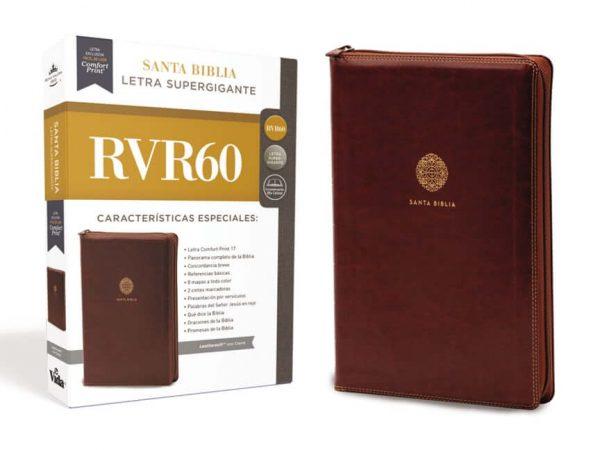 SANTA BIBLIA SUPER GIGANTE CON CIERRE RVR60