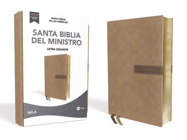 SANTA BIBLIA DEL MINISTRO LETRA GRANDE  LAS AMERICAS