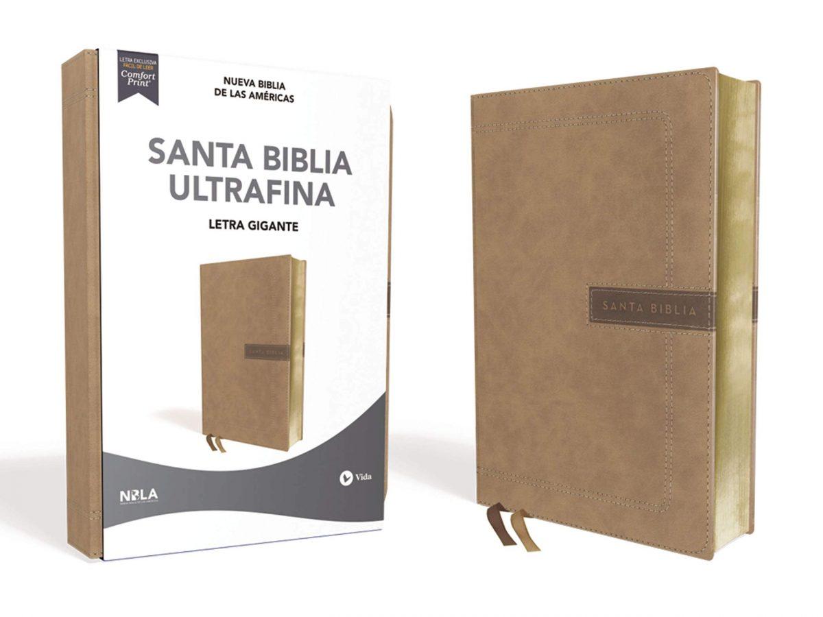 SANTA BIBLIA ULTRAFINA LAS AMERICAS LETRA GRANDE