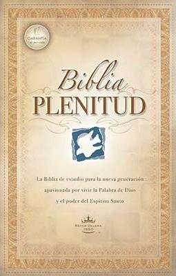 BIBLIA DE ESTUDIO PLENITUD RVR60 TAPA DURA