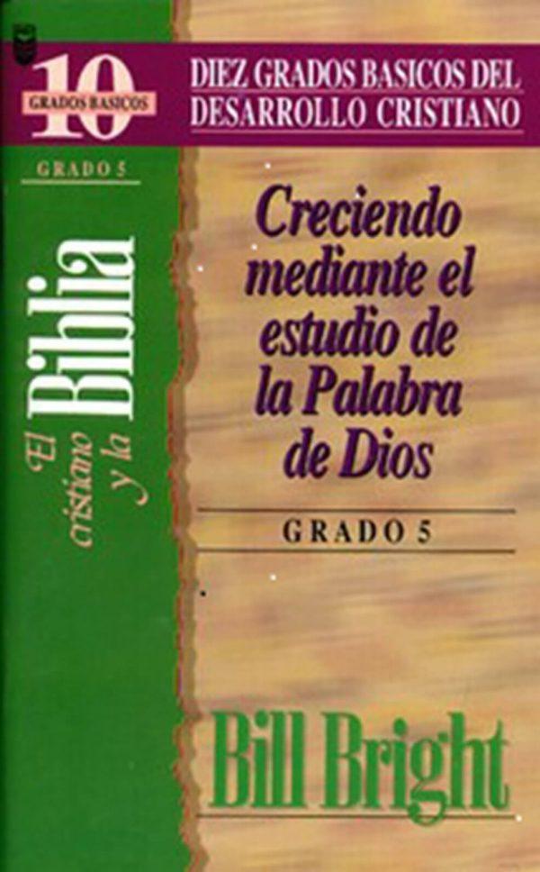 CRISTIANO Y LA BIBLIA (GRADO 5)