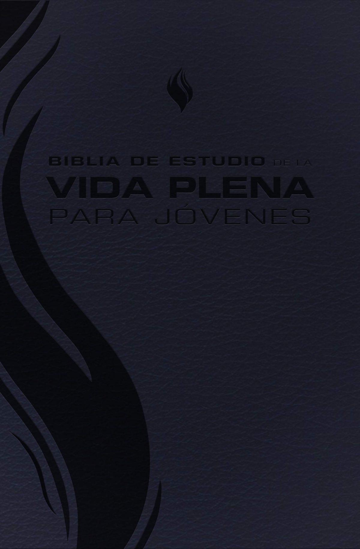 BIBLIA DE ESTUDIO DE LA  VIDA PLENA  PARA JOVENES - NEGRO