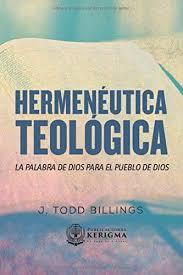 HERMENEUTICA TEOLOGICA