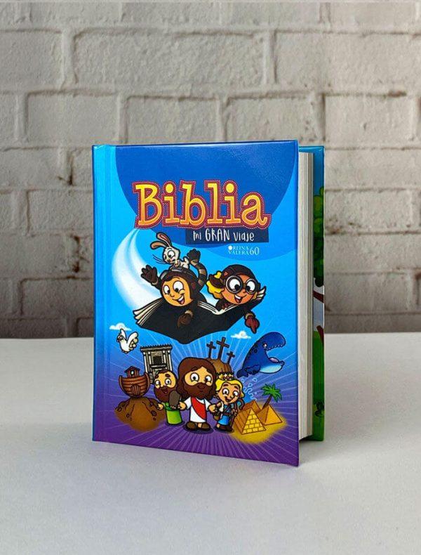 BIBLIA MI GRAN VIAJE RVR60 AZUL