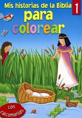 Mis historias de la Biblia para colorear 1
