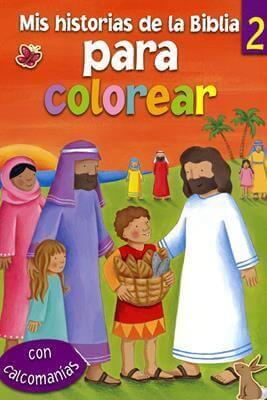 Mis historias de la Biblia para colorear 2